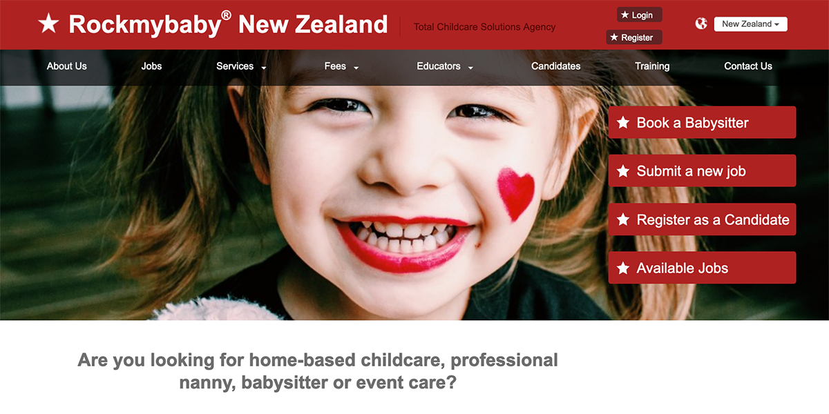 Nannyrequests Rockmybaby Total Childcare Solutions